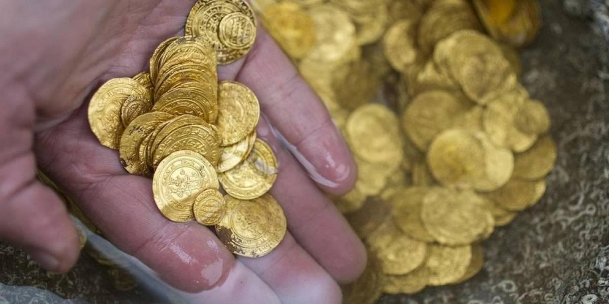 As revelações de tesouro descoberto por mergulhadores no fundo do mar em Israel
