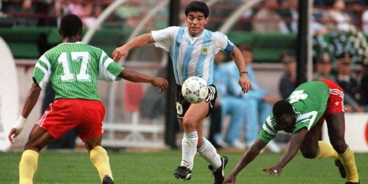 Así vivió Maradona la derrota de Argentina ante Croacia