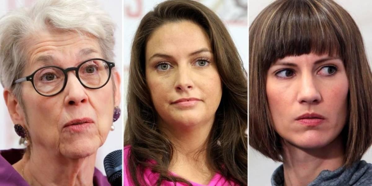 Las tres mujeres que exigen que el Congreso de Estados Unidos investigue al presidente Donald Trump por acoso sexual