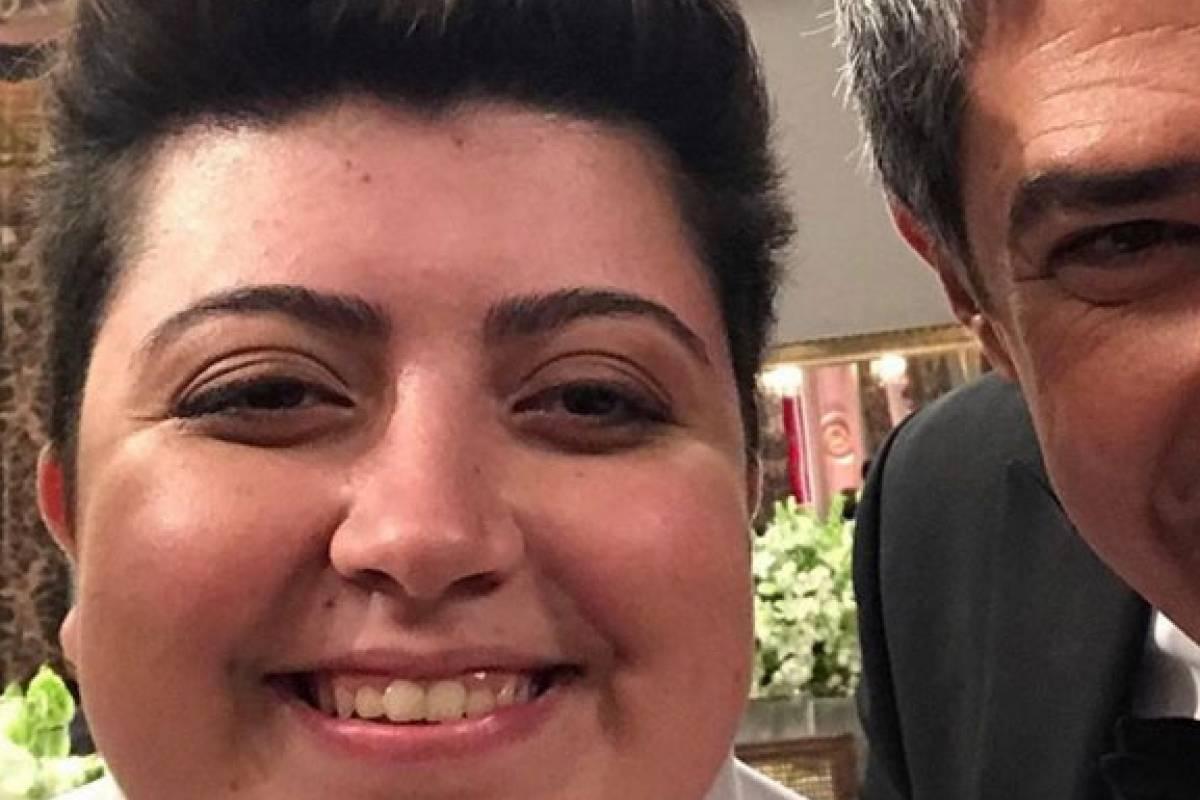 """Bonner com Ana Vilela, cantora do hit """"Trem Bala"""""""