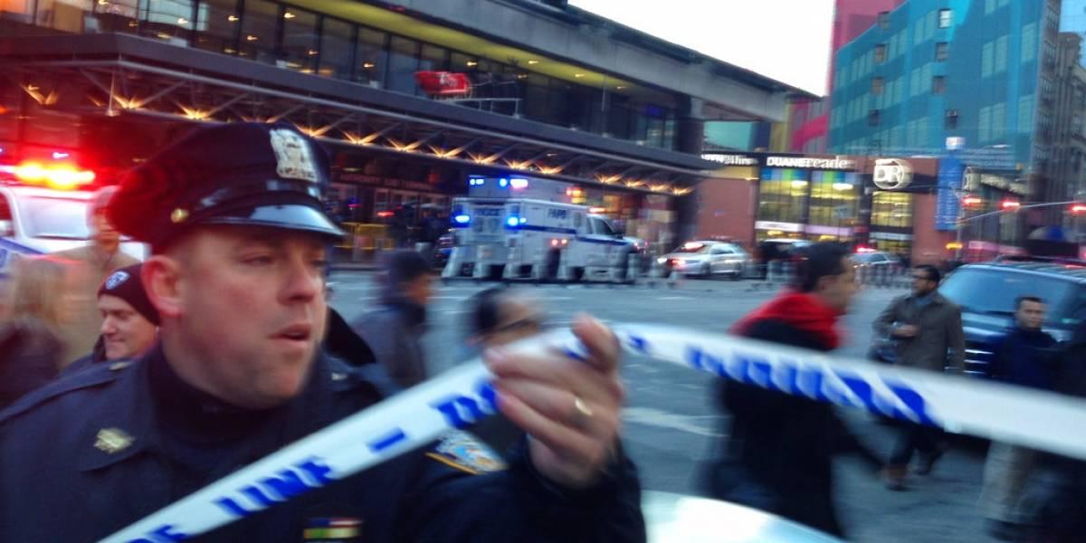 """Explosión en Nueva York: al menos cuatro heridos y un sospechoso detenido tras """"intento de ataque terrorista"""""""