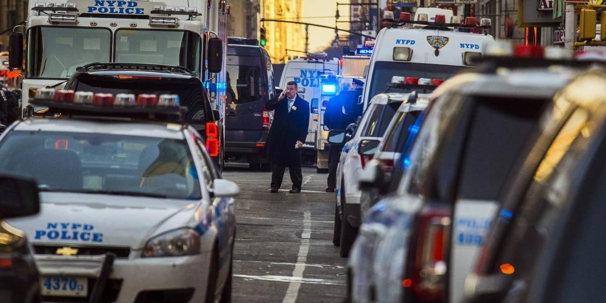 Explosión en Nueva York fue un intento de ataque terrorista: alcalde