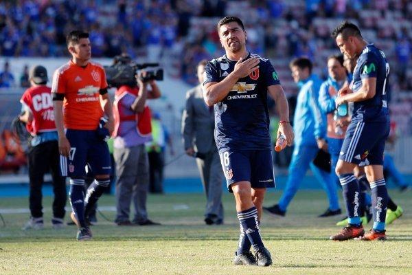 David Pizarro seguirá siendo azul / imagen: Agencia UNO