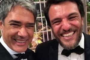William Bonner e Rodrigo Lombardi
