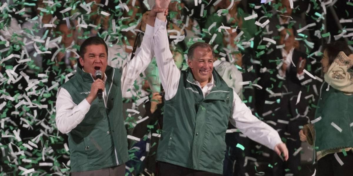 Meade va con el Verde y Fox lo palomea como candidato de unidad