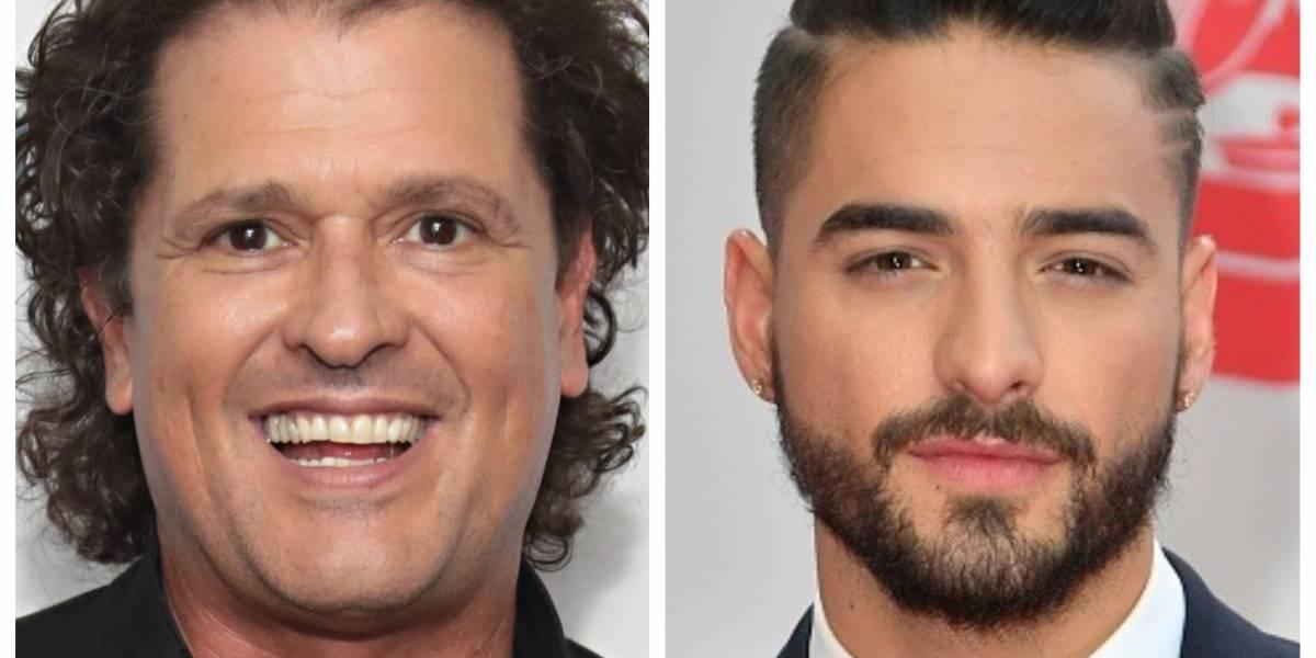 """Carlos Vives siente que debe hacer """"el papel de papá"""" con Maluma"""