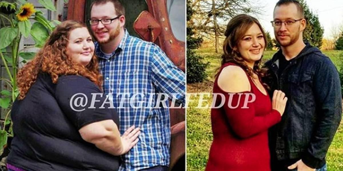 Casal faz promessa e decide emagrecer junto: o resultado foi menos 125 quilos