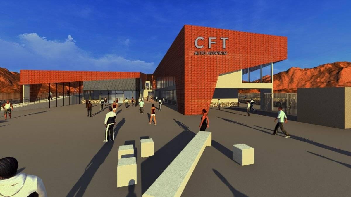Así será el nuevo CFT de la Región de Tarapacá Mineduc