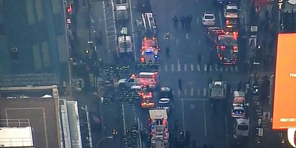 Se registra una fuerte explosión en el centro de Nueva York; hay un detenido