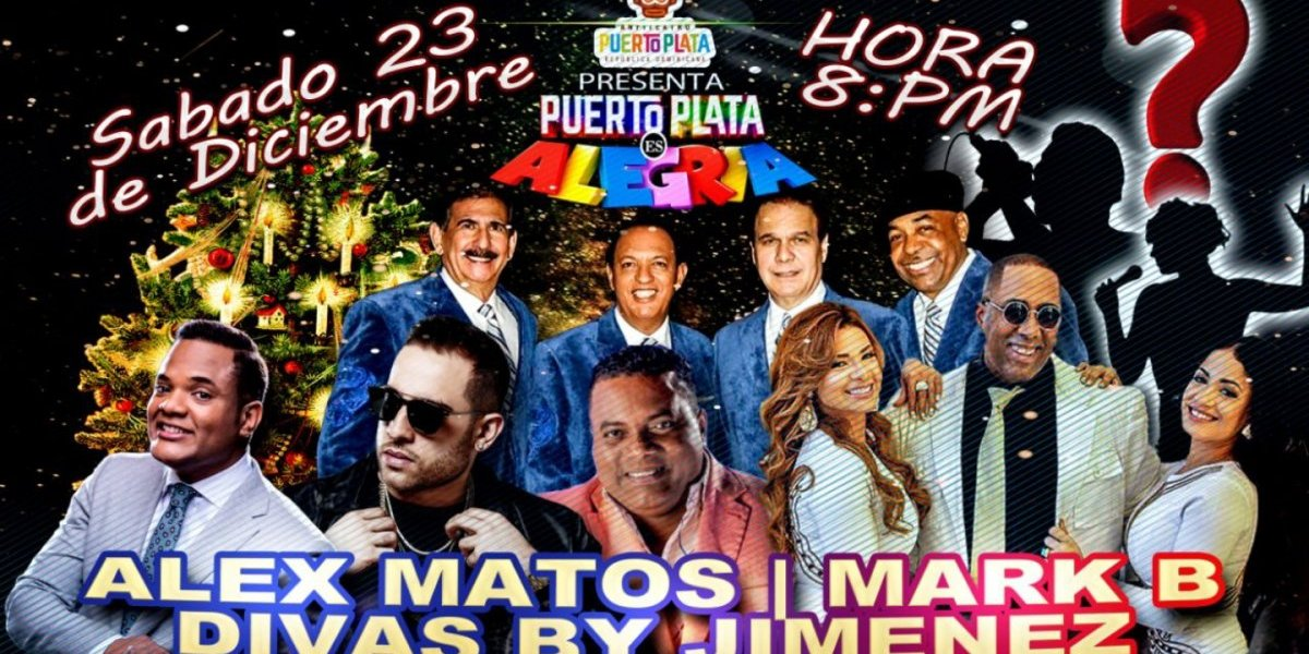 Mega concierto de estrellas 22 y 23 en Anfiteatro Puerto Plata