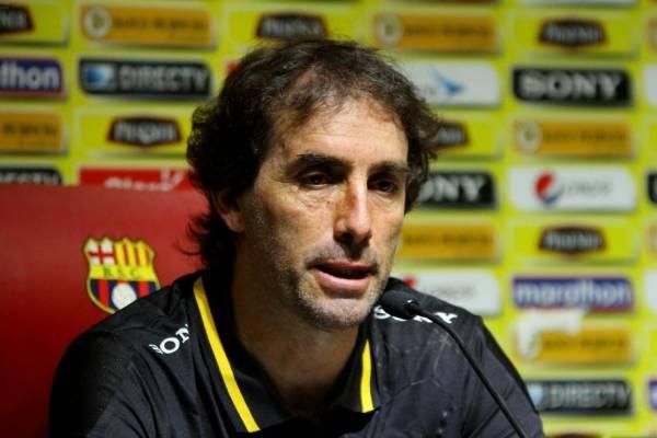 Guillermo Almada, técnico de Barcelona SC