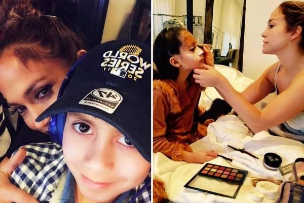 Jennifer Lopez hijos