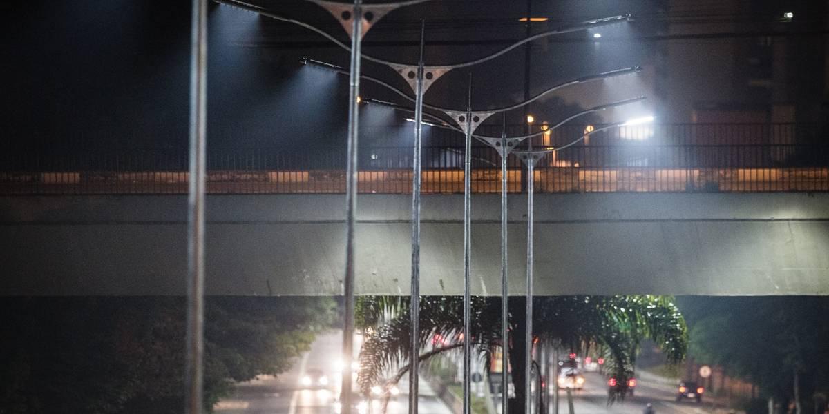 Mesmo com mais população, bairros periféricos de São Paulo contam com iluminação pública precária