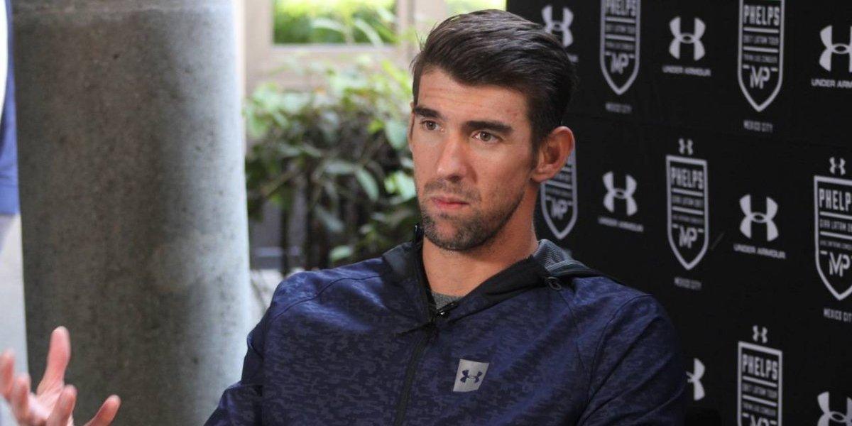 Phelps augura buen futuro al deporte en México