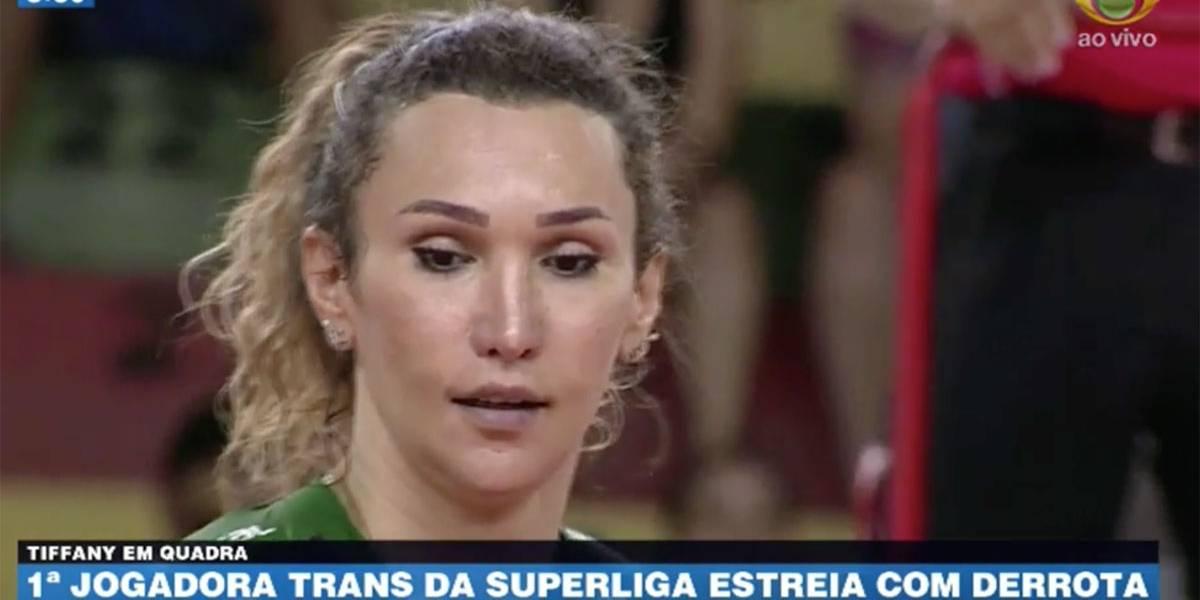Jogadora trans estreia no vôlei com derrota para o São Caetano