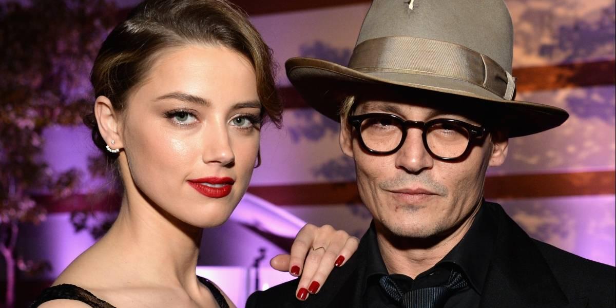 Johnny Depp diz que foi agredido pela ex-mulher por ter se atrasado para festa