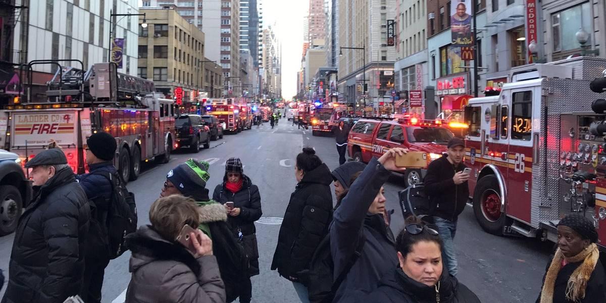 Explosão em NY foi 'tentativa de ataque terrorista', diz prefeito