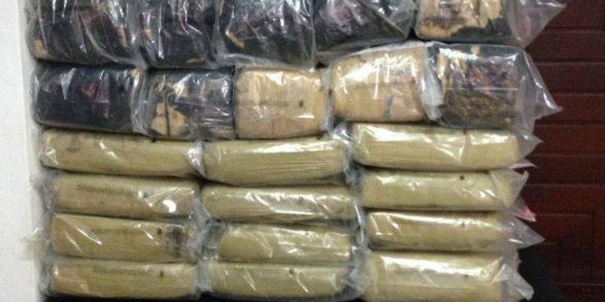 DNCD ocupa otras 110 libras de marihuana en Independencia