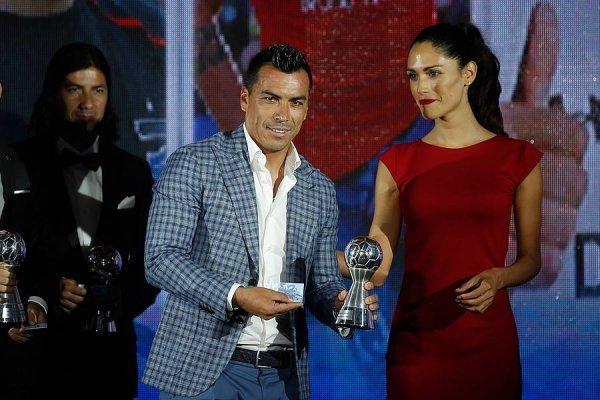 Esteban Paredes fue elegido el mejor del año / imagen: Photosport