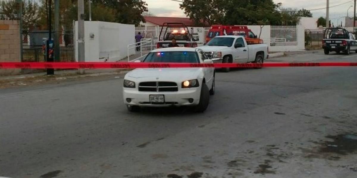 Menor se suicida de un disparo dentro de primaria en Cadereyta