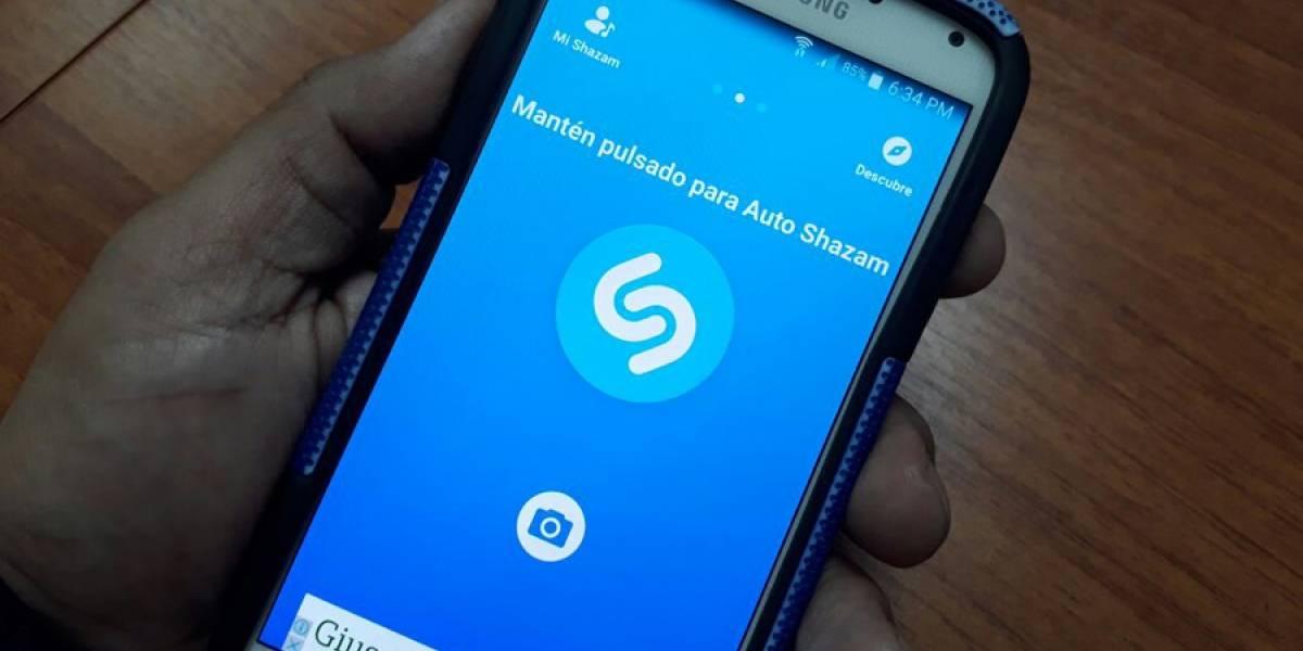 Apple anuncia que compra la aplicación de reconocimiento de música Shazam