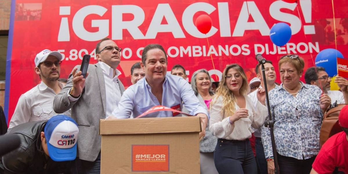 Cambio Radical se adhiere a la candidatura de Vargas Lleras