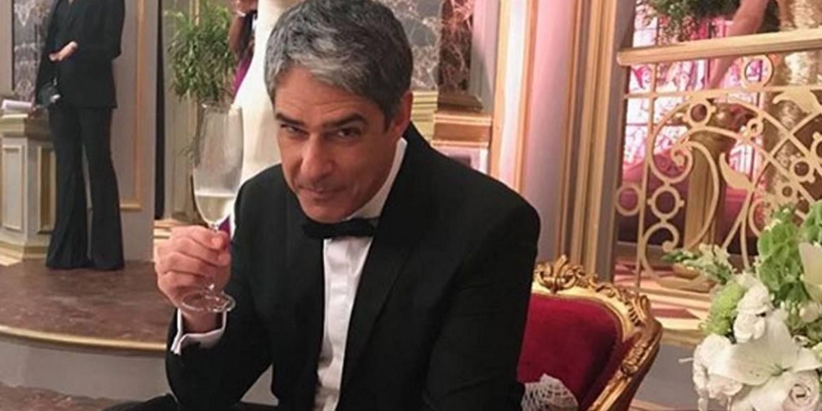 Bonner mostra lado arroz de festa e publica dezenas de selfies com os Melhores do Ano; veja
