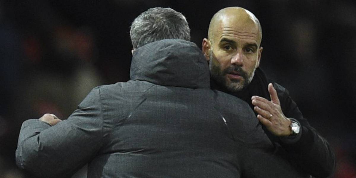 Mourinho y Pep Guardiola contaron la verdad sobre la pelea en el derby de Manchester