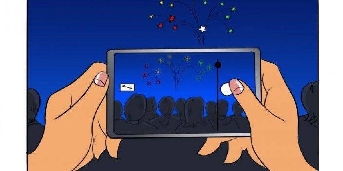 5 consejos de Samsung para sacar fotos de fuegos artificiales