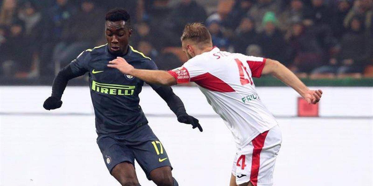 Inter de Milán evitó el bochorno y eliminó en penales al modesto Pordenone  en la Copa Italia