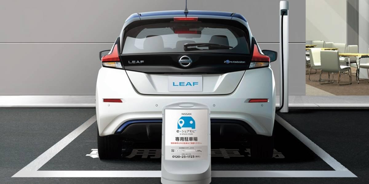 La apuesta por los autos compartidos la fomenta Nissan en Japón