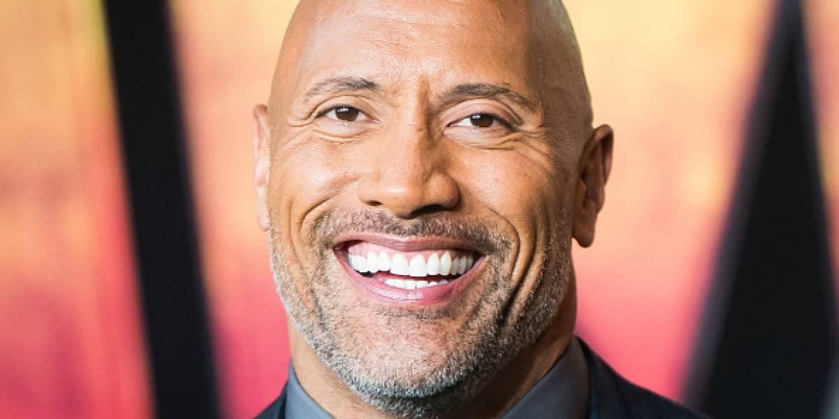 """Así anunció """"The Rock"""" que tendrá su tercer hijo"""