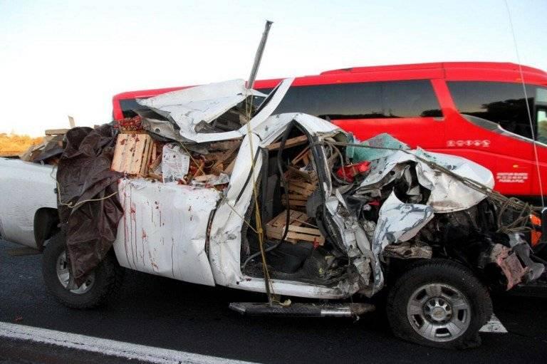 Accidente en carretera Ciudad de México-Puebla