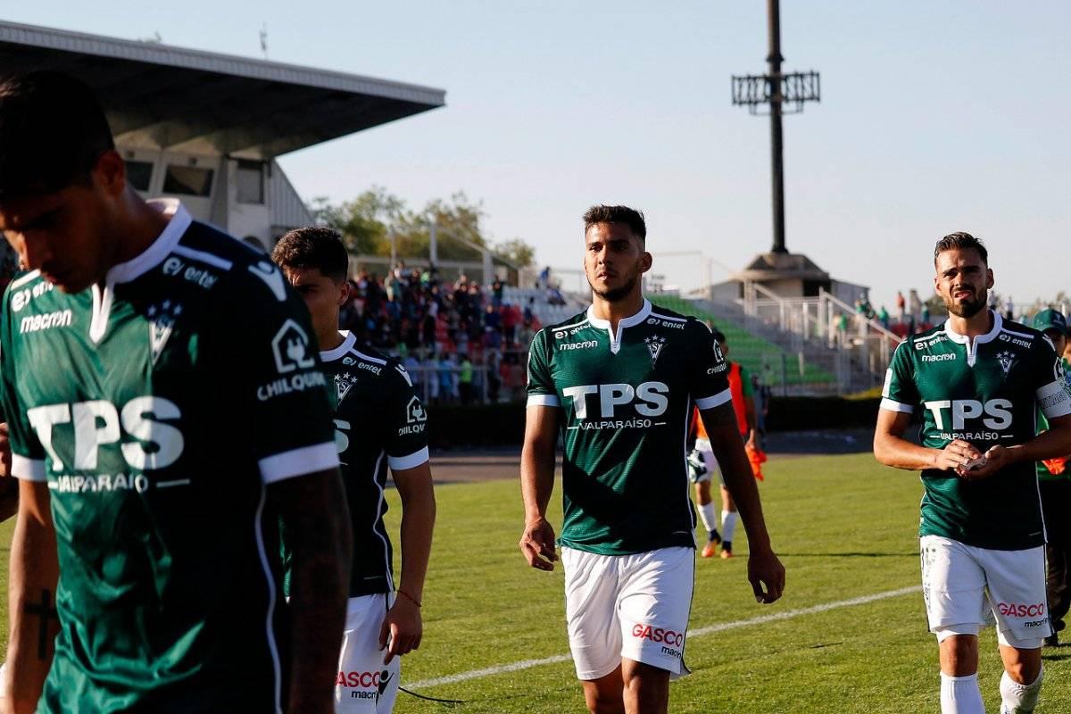 Wanderers buscará quedarse en Primera / imagen: Agencia UNO