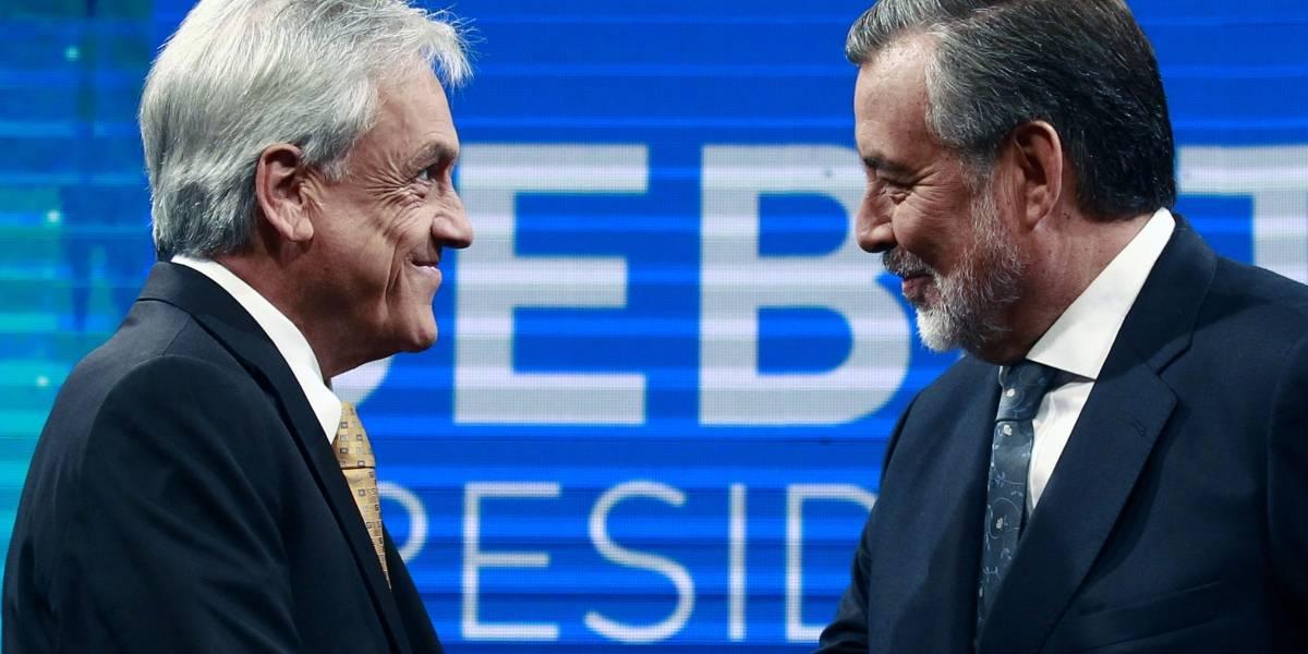 Debate Anatel: Así se vivió el enfrentamiento presidencial entre Guillier y Piñera