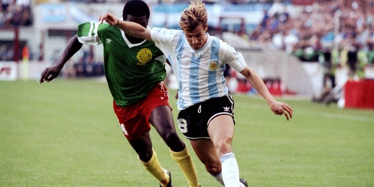 VIDEO: Muere jugador que agredió a Caniggia en Mundial de 1990