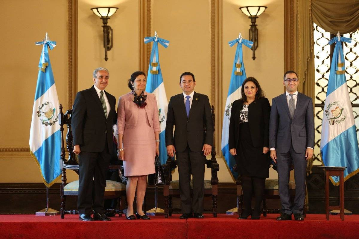 Embajador de Egipto Aboulmagd Maged Refaat Minex