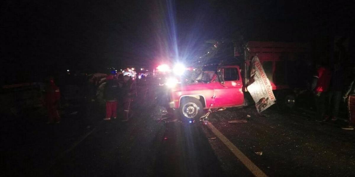 Sube a 10 el número peregrinos muertos por accidente en la México-Puebla