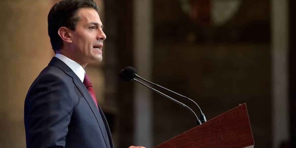 Peña Nieto anuncia tres medidas contra el cambio climático