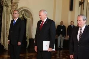 Embajador de Suiza Hans-Ruedi Bortis