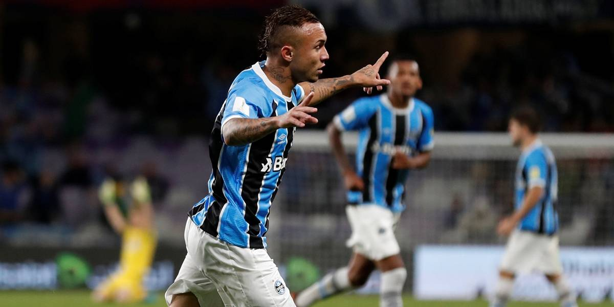 Everton bota o Grêmio na final do Mundial