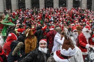 Santacon Bar Crawl