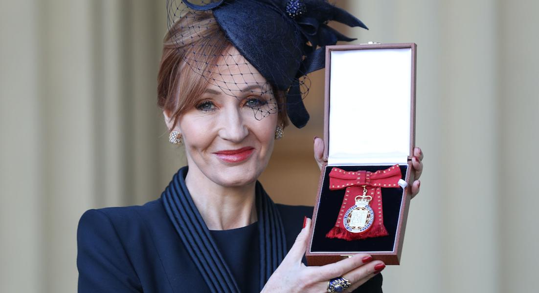 J.K. Rowling ya es parte de la Orden de los Compañeros de Honor