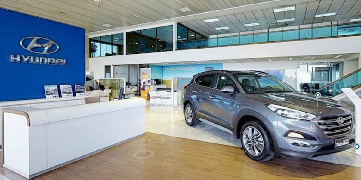 Hyundai estrena showroom virtual