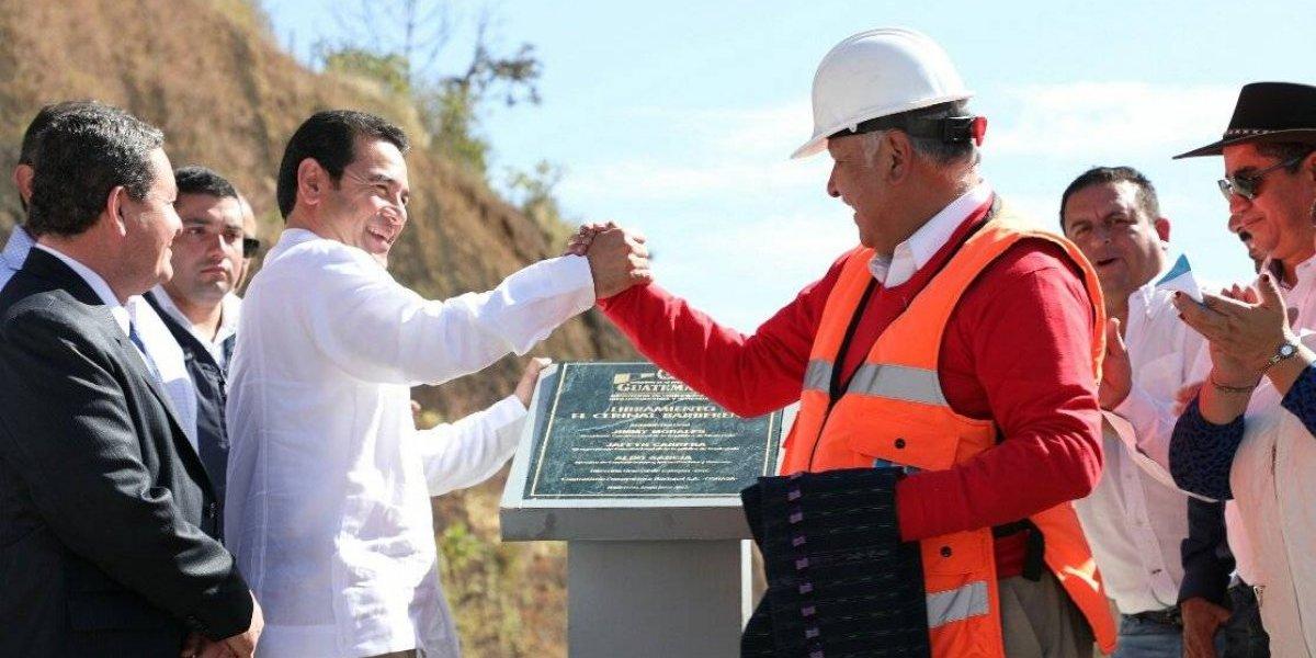 Inauguran carretera que conecta con la frontera con El Salvador