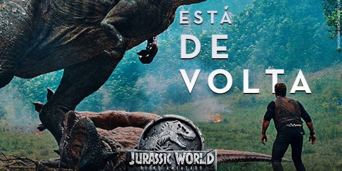 Universal Pictures lança trailer de Jurassic World: Reino Ameaçado; veja
