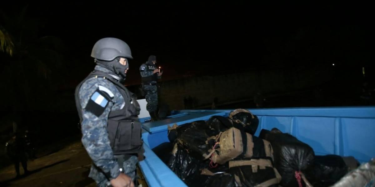 Guatemala incautó más de 13 toneladas de cocaína en 2017