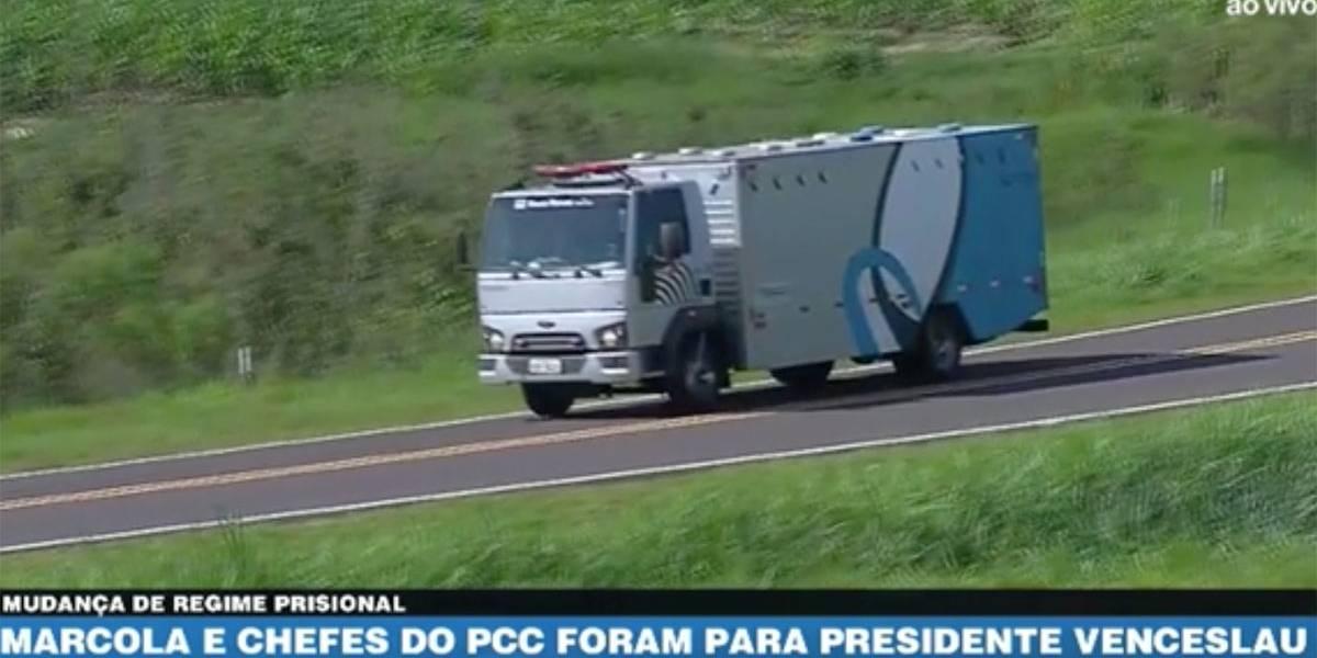 Marcola e chefes do PCC são transferidos para presídio em Presidente Venceslau
