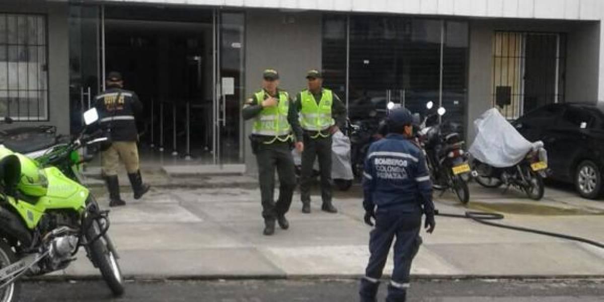 ¡No más cuentos!, hombre desesperado intentó incendiar oficina de Medimás