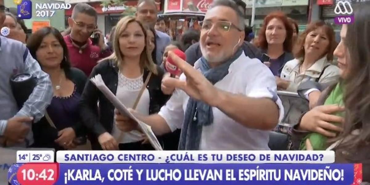 """Luis Jara salió a las calles y """"Mucho gusto"""" alcanzó peak de rating más alto del año"""